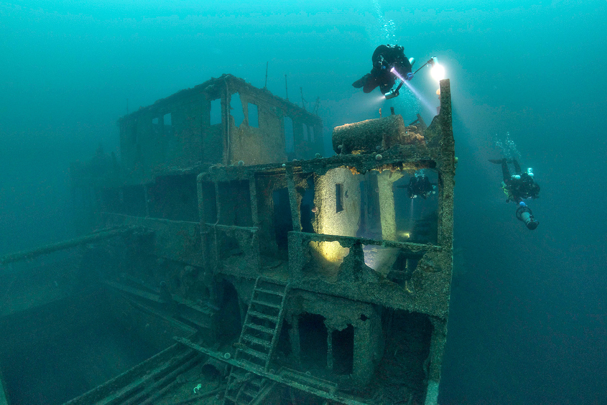 Frankenval One Of The World S Best Wreck Dives