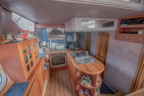 Kitchen Area Onboard