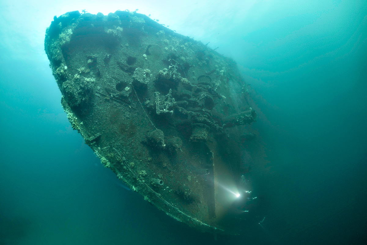 Wreck Diving in Norway