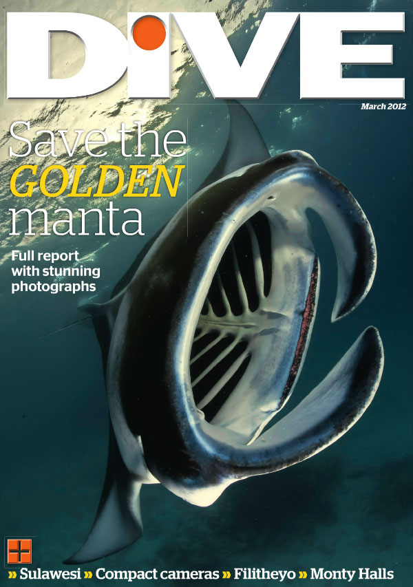 Dive March 2012 Cover